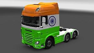 India skin for DAF Euro 6