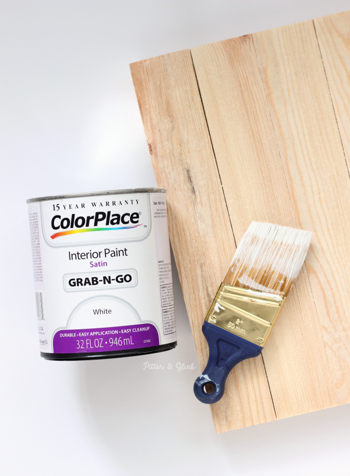 Paint and Board for Fall Art