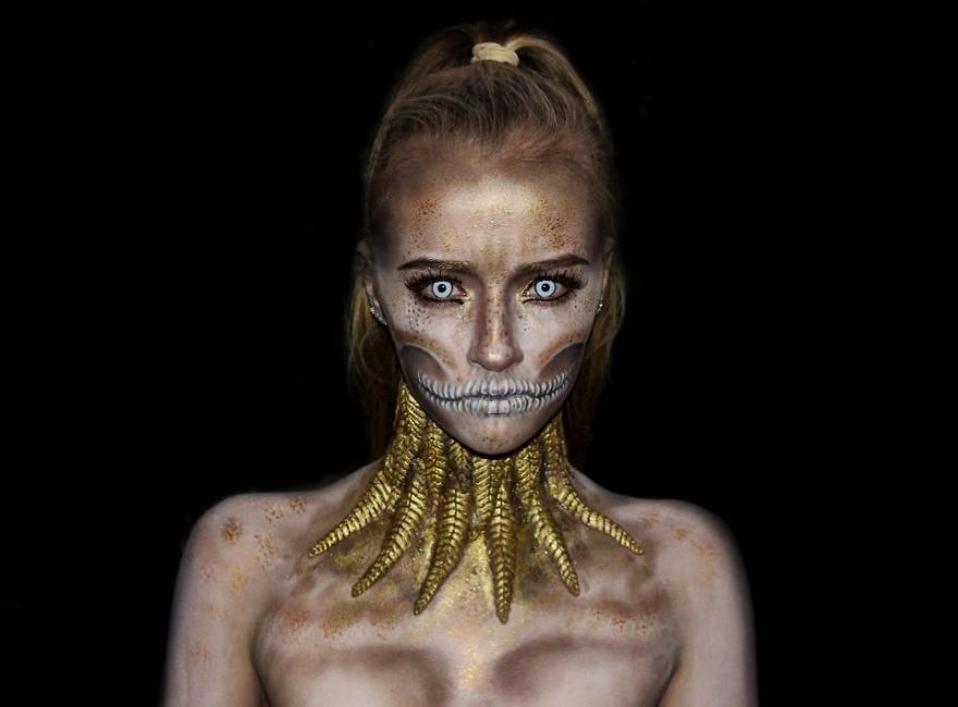 16-Lara-Wirth-Armageddon-Painted-Turning-into-Monsters-with-Body-Painting-www-designstack-co