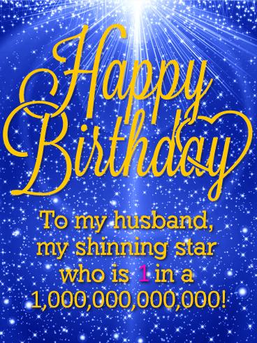 Romantic Happy Birthday Image for Husband