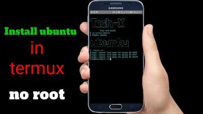 Install Ubuntu 17.04 Zetsy Menggunakan Termux