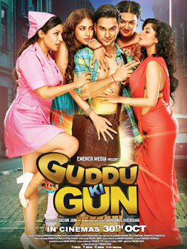 Poster Of Bollywood Movie Guddu Ki Gun (2016) 100MB Compressed Small Size Mobile Movie Free Download worldfree4u.com
