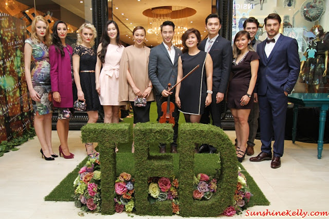 Eileen Hah, Brand Manager, Ted Baker Malaysia, Kiki Lee, Manager, Advertising & Promotions; celebrities, Debbie Goh, Peter Davis, Joanne Yew, Curiosities, Ted Baker Autumn Winter 2015, Ted Baker Malaysia, Ted Baker, Ted Baker AW15, Wonders, Fashion show, Pavilion KL