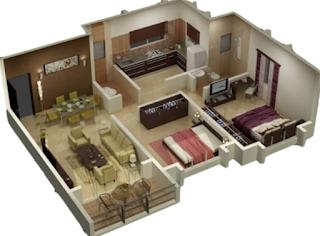 Pembuatan Denah Rumah 2