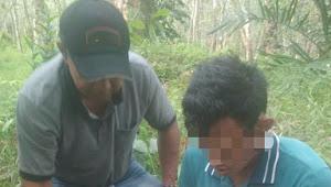 Babinsa & Polisi Tangkap Dua Pelaku Pengedar Uang Palsu di Rimbo Bujang