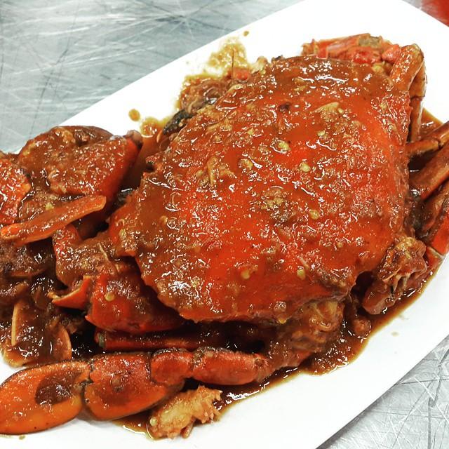 Kepiting Cak Gundul - wisata kuliner surabaya