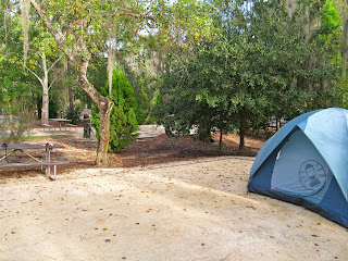 Tent Campsite at Fort Wilderness Resort