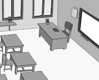 Gambar dibawah mengambarkan ruang kelas yang  Soal Tematik Kelas 2 Tema 4 Subtema 2 Semester 1 Revisi