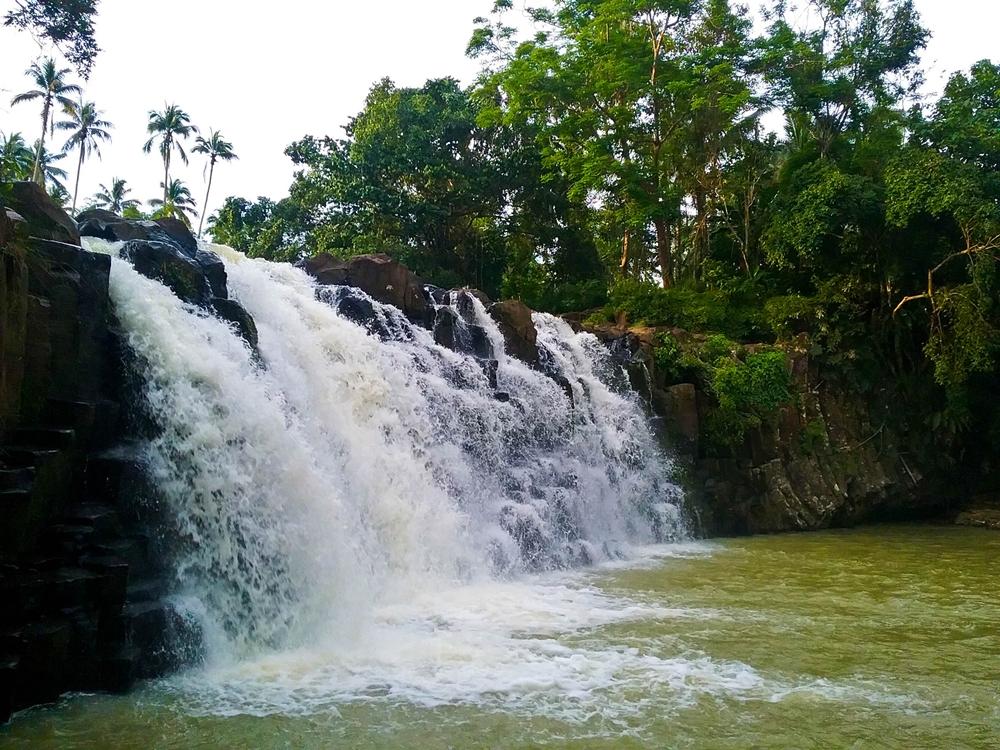 Bulingan Falls in Lamitan, Basilan