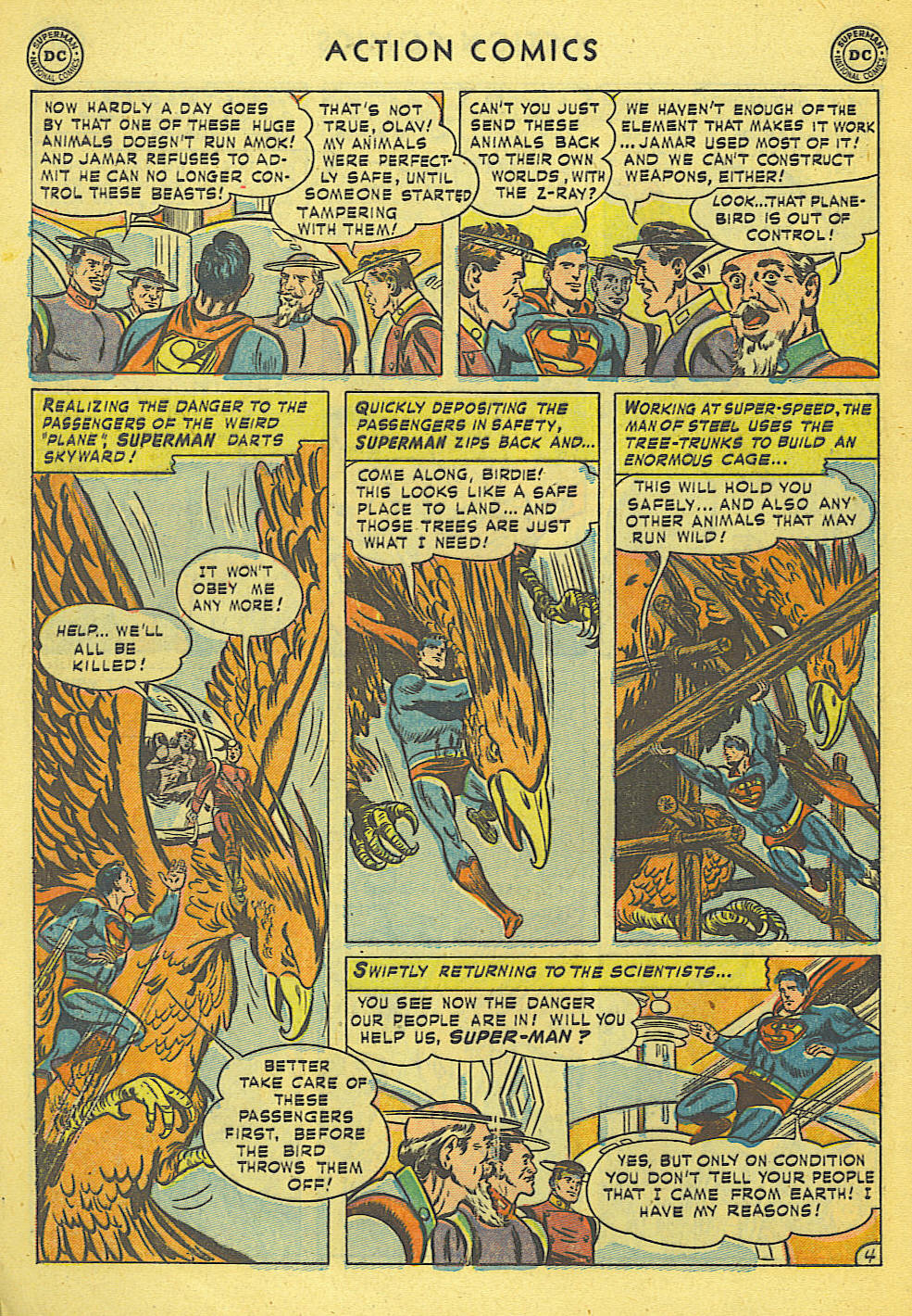 Read online Action Comics (1938) comic -  Issue #168 - 5