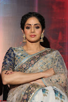 Sri Devi in designer saree stunning beauty at the launch of MOM movie Trailer~  Exclusive 089.JPG