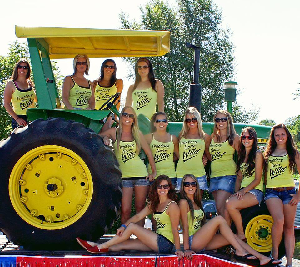 Just A Car Guy The Tractors Gone Wild Calendar Donated -4517