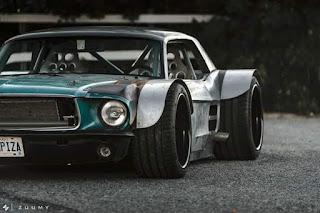 Modifikasi Mobil Mustang Paling Gokil