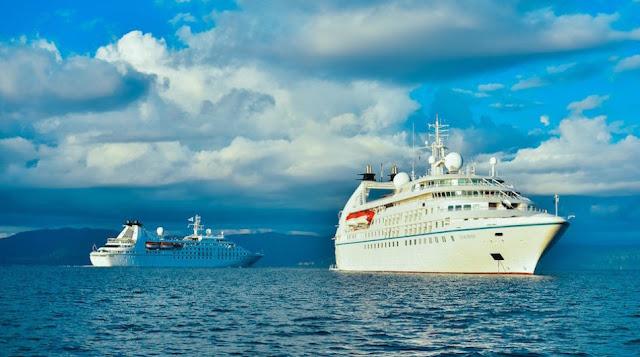 Η Windstar Cruises στο Ναύπλιο και το 2020 με δυο πλοία