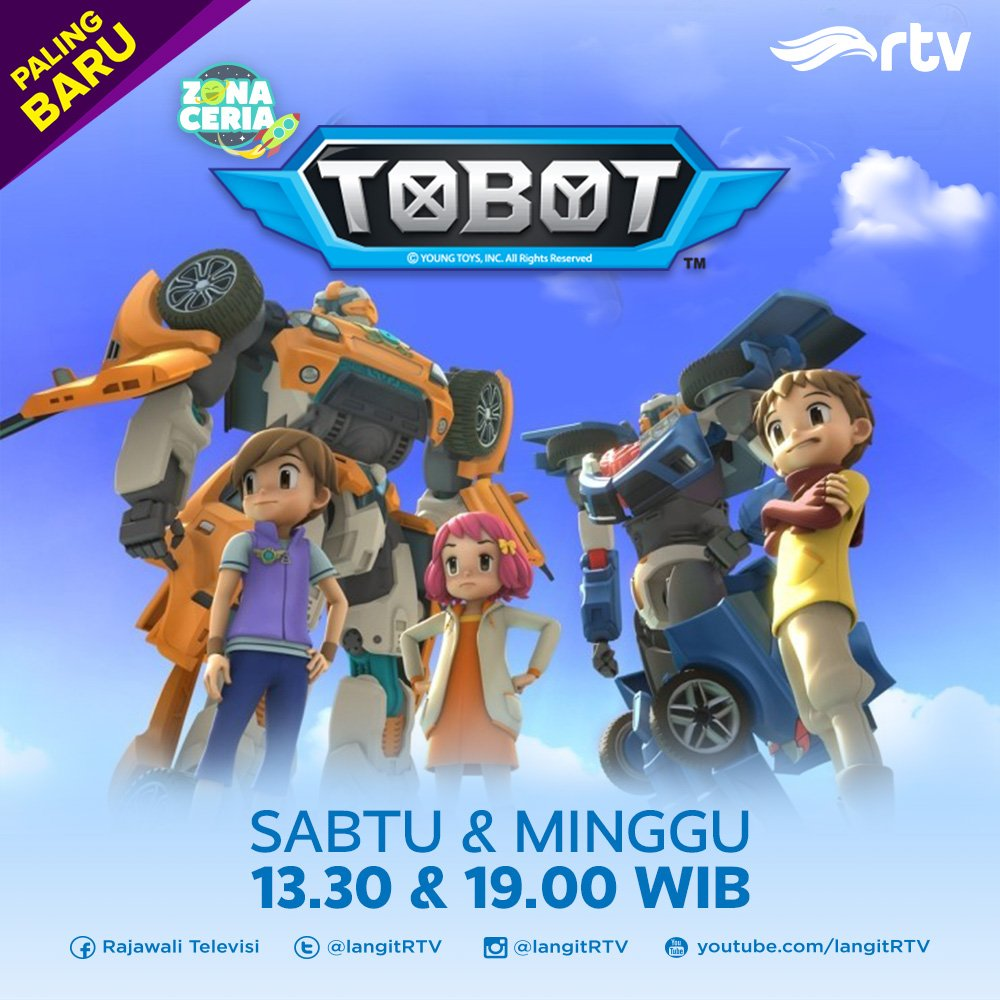 Review Kartun TOBOT RTV - My Kingdom