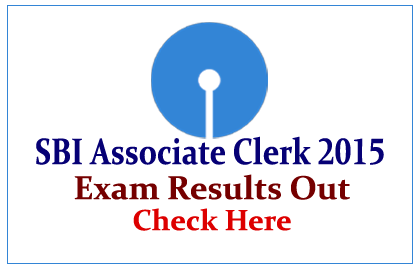 SBI Associate Clerks Online Exam 2015 Results out