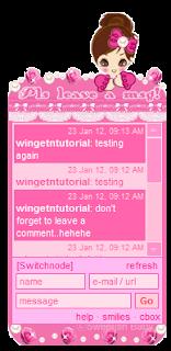 bingkai cbox pink