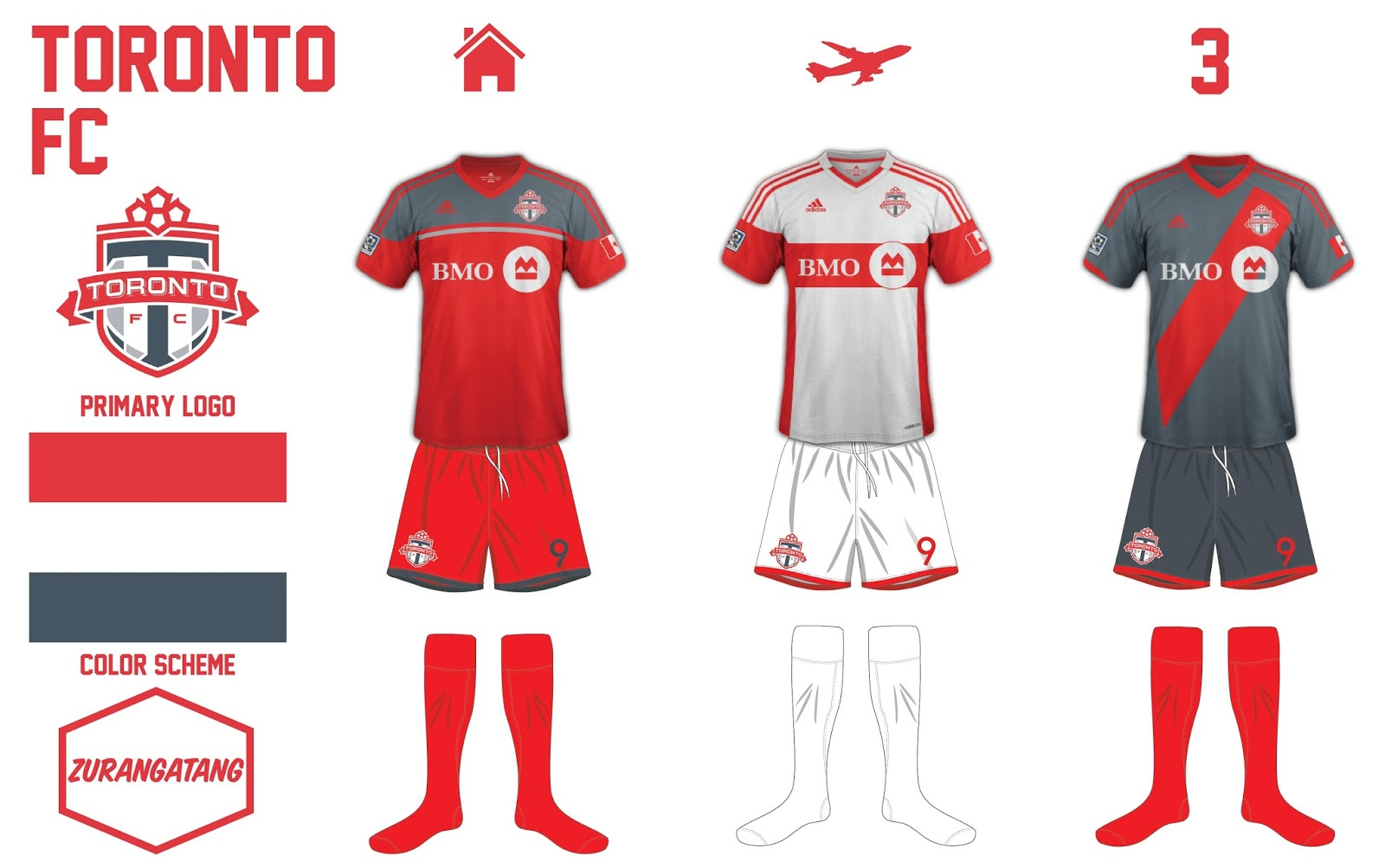 big sale d70a4 385c9 Concepts: Toronto FC Football Kits | FOOTY FAIR