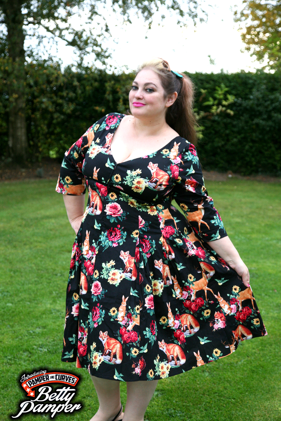 34afae2b977 Hermeline Woodland Animal Dress by Tiger Milly A review