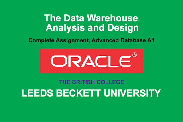 The Data Warehouse Analysis And Design Assignment
