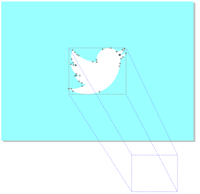 Gambar Trace di Extrude pada Corel Draw X6