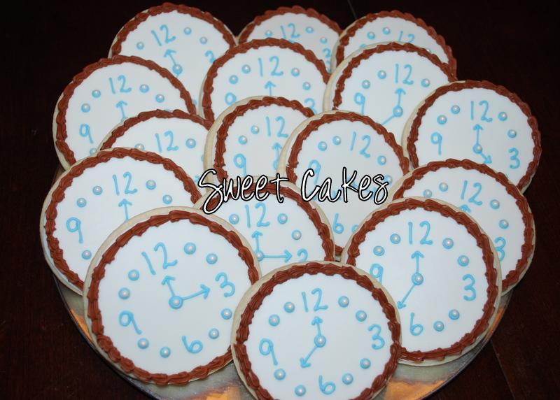 Sweet Cakes Around The Clock Bridal Shower