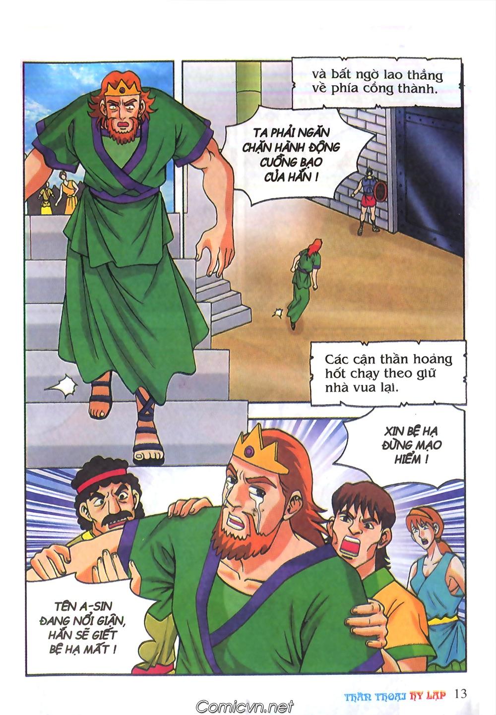 Thần Thoại Hy Lạp Màu - Chapter 62: Hector tử trận - Pic 13
