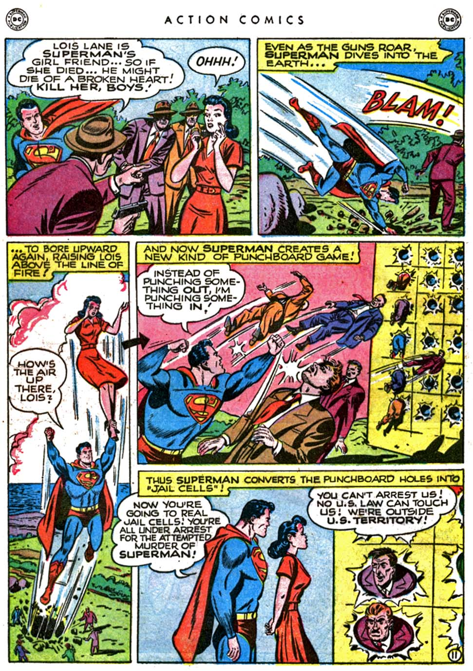 Read online Action Comics (1938) comic -  Issue #123 - 13