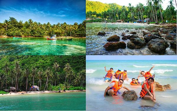 Vẻ đẹp thanh bình, hoang sơ ở đảo Nam Du