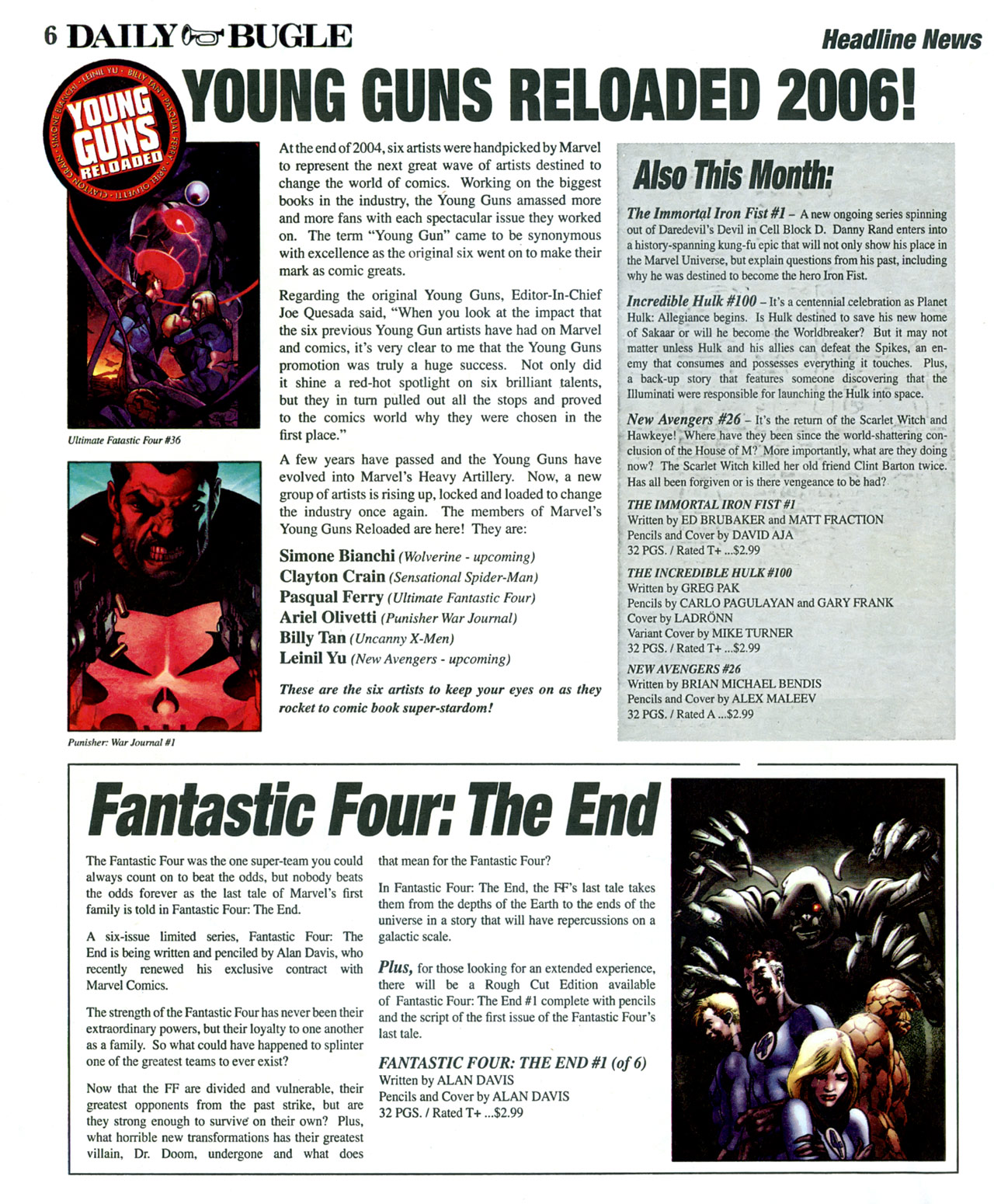 Read online Daily Bugle (2006) comic -  Issue #2 - 6