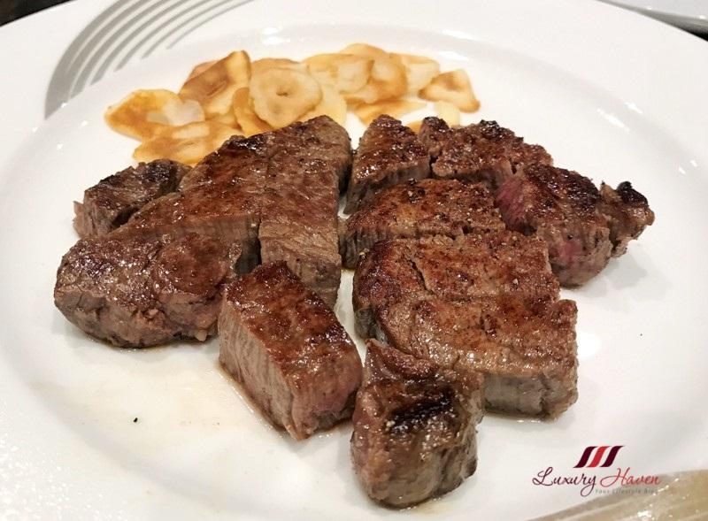 hama steak house special beef tenderloin matsusaka ushi