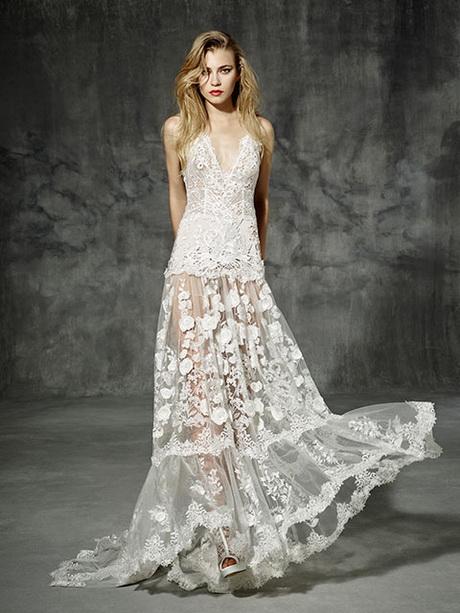vestidos de novia en playa