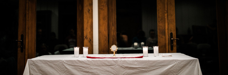 The Eucharist Table