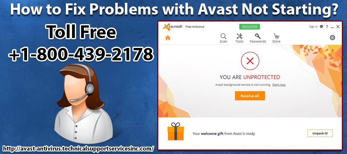 avast antivirus service not starting