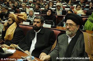 Parlamentarios musulmanes ley contra cristianos Afganistán