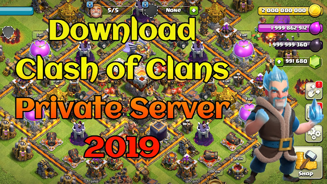 download clash of clans private server