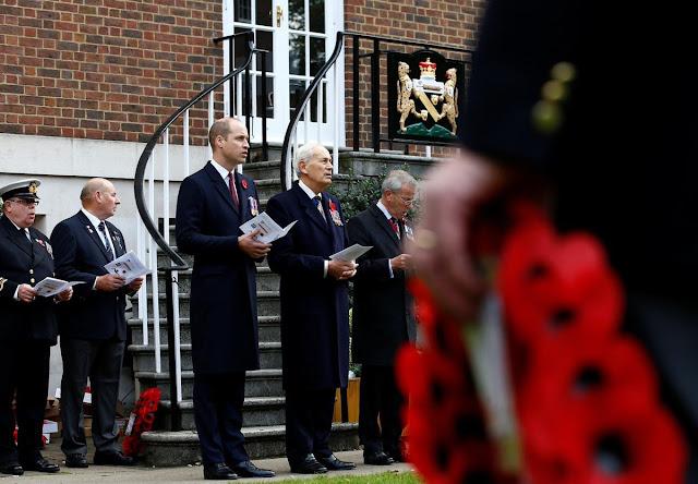Książę William na obchodach pamięci ofiar służby podwodnej