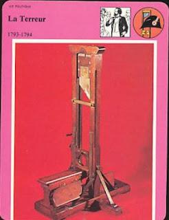 guillotine et terreur