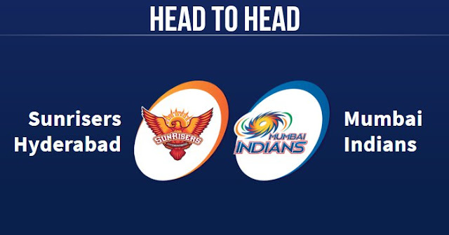 SRH vs MI Head to Head: MI vs SRH Head to Head IPL Records