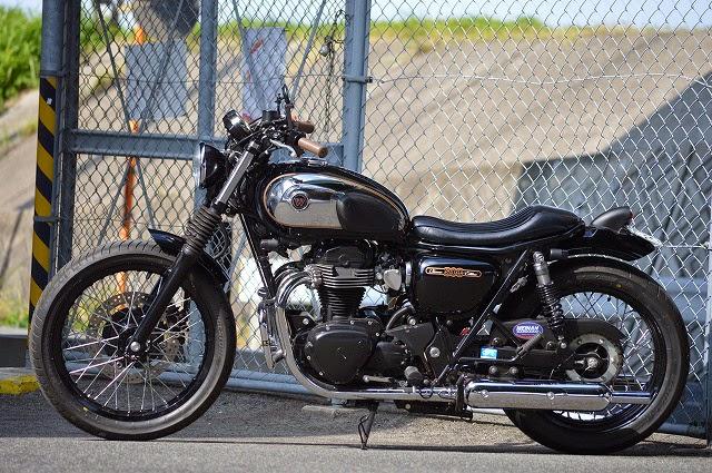 Milchapitas Kustom Bikes Kawasaki W800 By An Bu