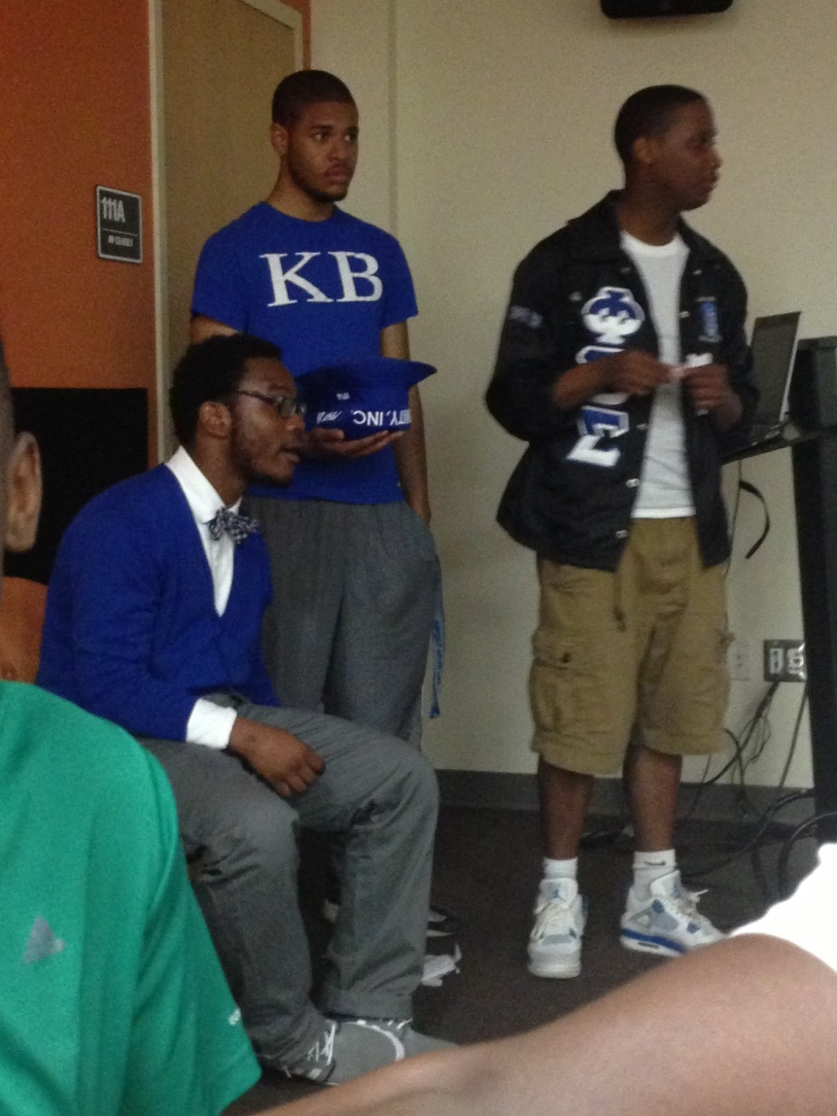 The Frostburg New Day  Phi Beta Sigma s