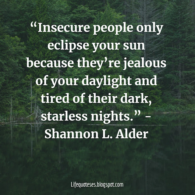 Quotes and saying about jealousy