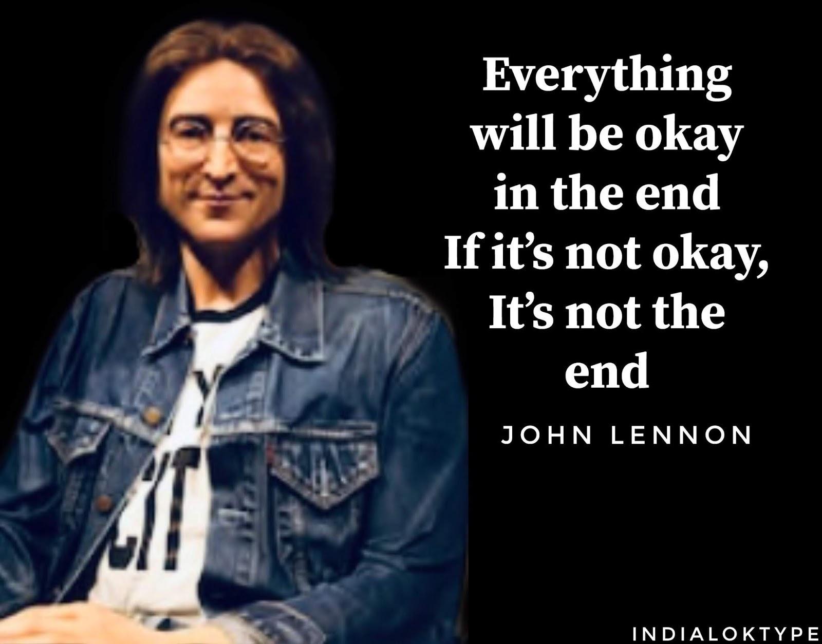 John Lennon Indialoktype