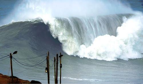 Nazaré, maior onda do mundo