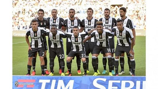 Đội hình siêu mạnh của Juve mùa giải 2016-2017