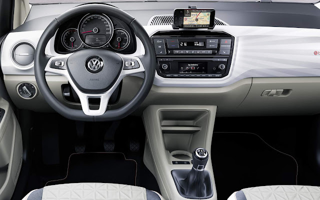 Novo VW Up! 2017 - interior