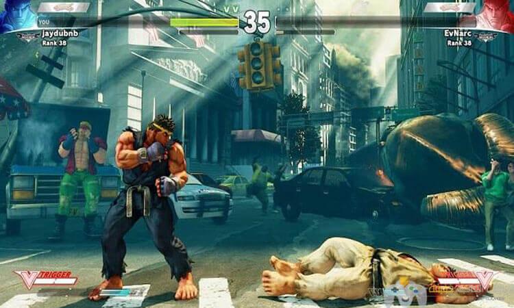 تحميل لعبة قتال الشوارع Street Fighter V للكمبيوتر