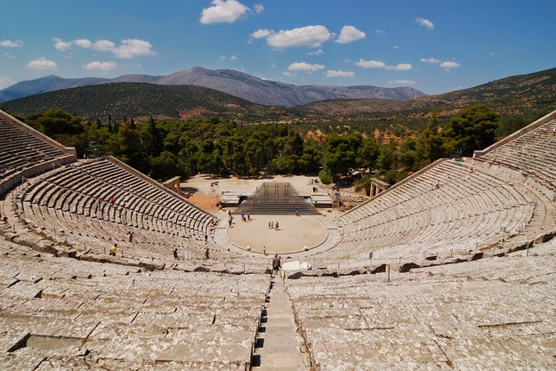 36. The acoustics at Epidavros will blow your mind. (Built in the 4th-century B.C., the theater seats 15,000 people.) - 49 Reasons To Love Hellas (Greece)