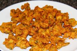 Savory Cauliflower Snack – Pakora Recipe