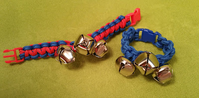 Make jingle bells from paracord at Hands On Crafts For Kids.